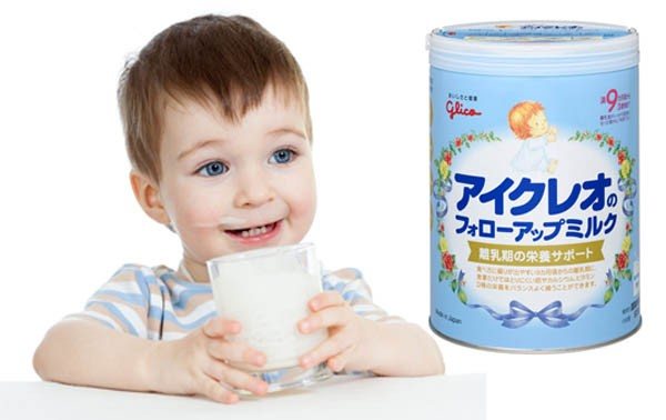 SỮA GLICO của Nhật thanh mát dễ uống cung cấp đủ dinh dưỡng cho bé2