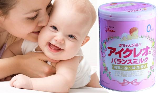 Sữa Glico giúp bé lớn khôn từng ngày