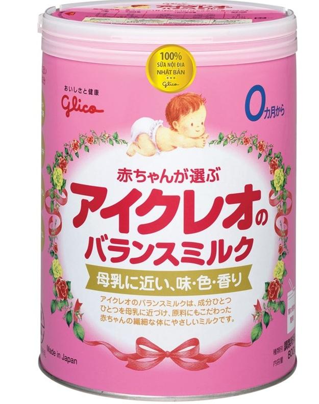 Sữa Glico Icreo Nhật Bản - Sữa MÁT, dễ uống, dễ tiêu hóa cân đối cho bé