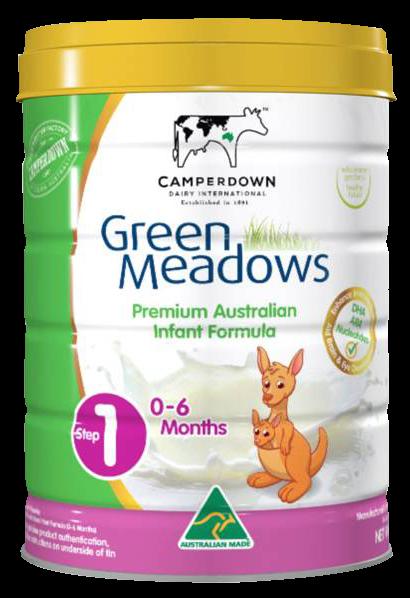 sữa green meadows số 1 900g