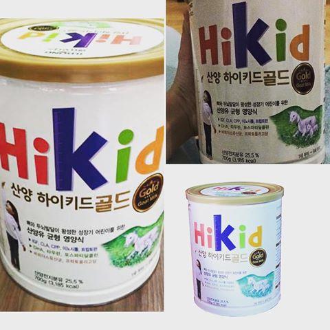 Sữa hikid Hàn Quốc đang được mẹ Việt tin dùng