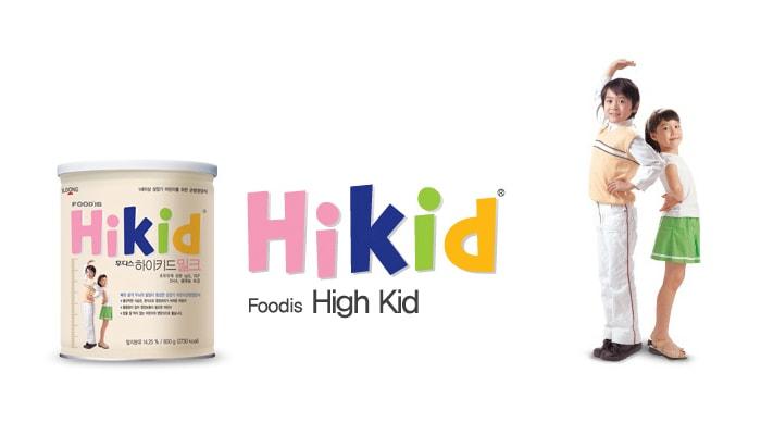 SỮA HIKID Hàn Quốc phát triển cân nặng chiều cao bé khỏe mẹ yên tâm1
