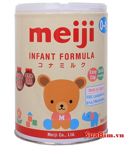 Sữa Meiji Infant Formula số 0 dành cho bé 0-12 tháng hàng nhập khẩu