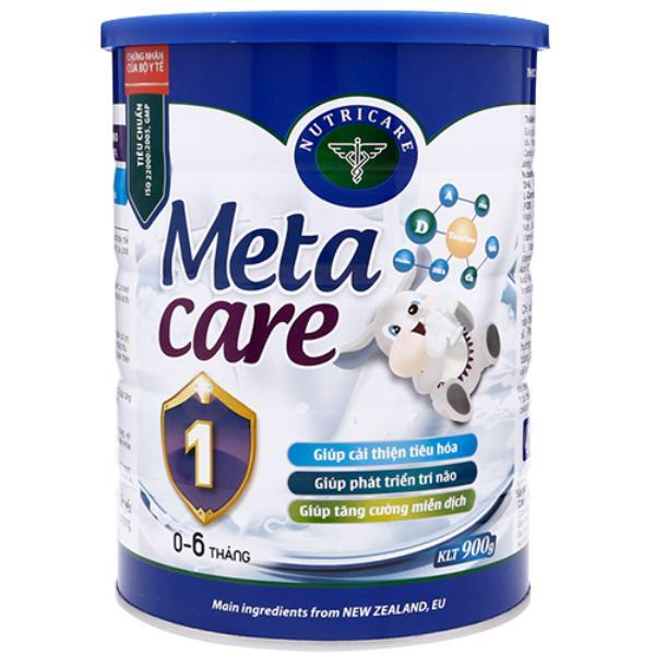 Tìm hiểu thành phần dinh dưỡng của meta care