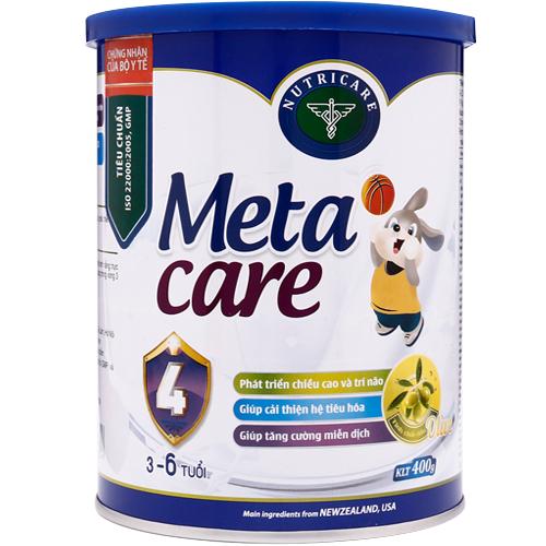 Sữa Meta Care công thức ĐẶC BIỆT hỗ trợ bé phát triển chiều cao tốt1