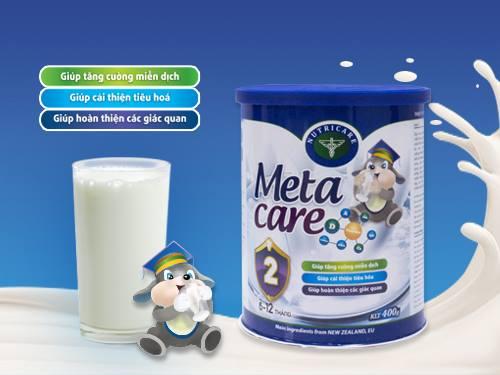 Tìm hiểu thành phần dinh dưỡng của meta care1