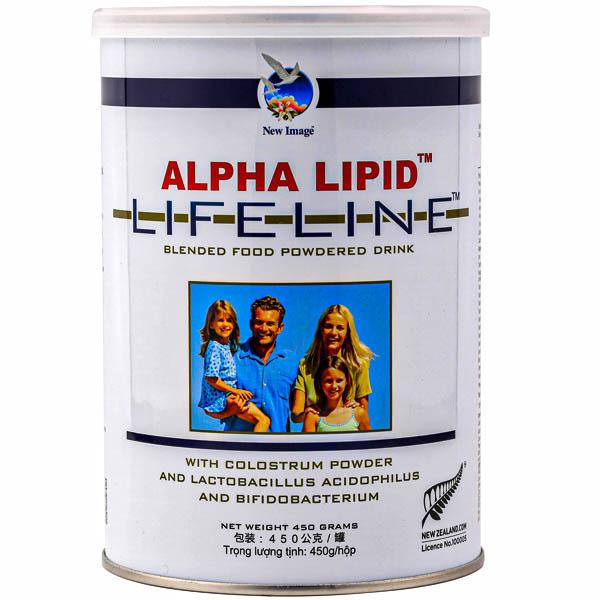 Sữa Alpha lipid lifeline 450g
