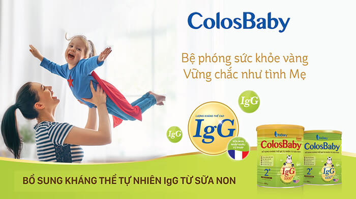 Sữa colosbaby tăng cường miễn dịch