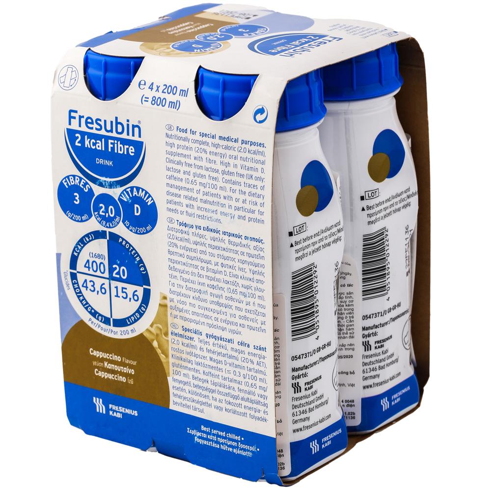 Hình ảnh sữa nước fresubin 2 kcal fibre của đức cho người bệnh
