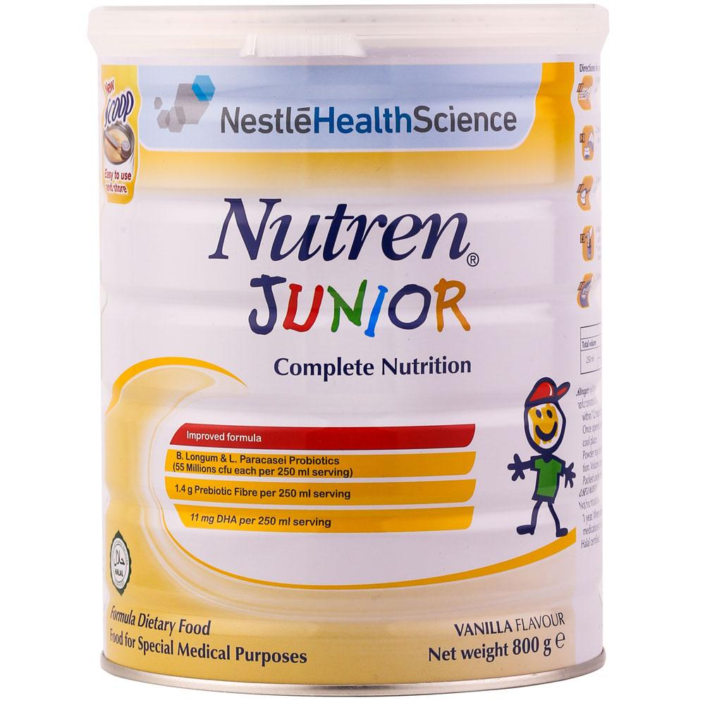 Sữa nutren junior 800g của nestle