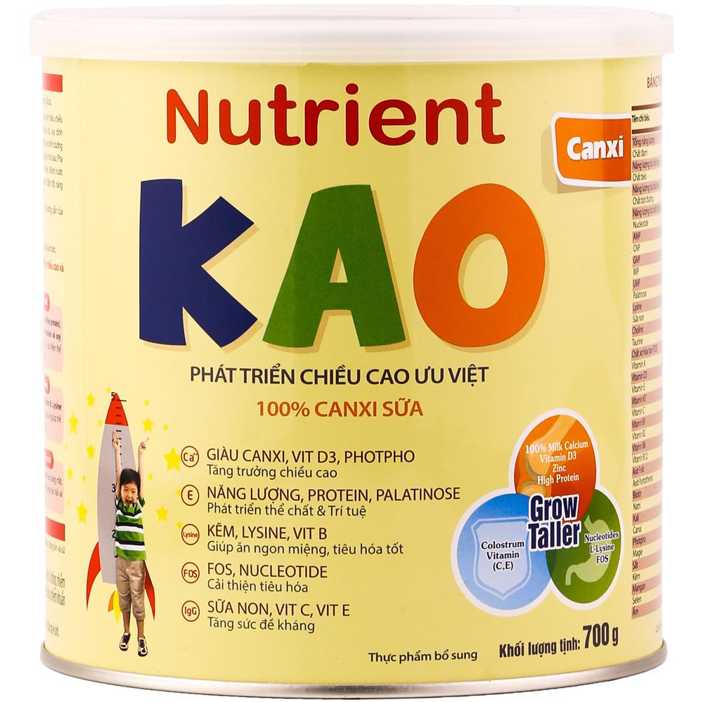 Sữa Nutrient Kao cho bé 1-6 tuổi