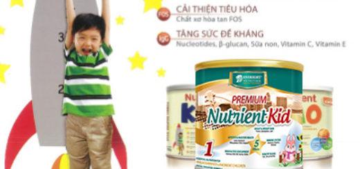 SỮA NUTRIENT KID giúp bé TĂNG cân nhanh, tăng chiều cao ổn định2
