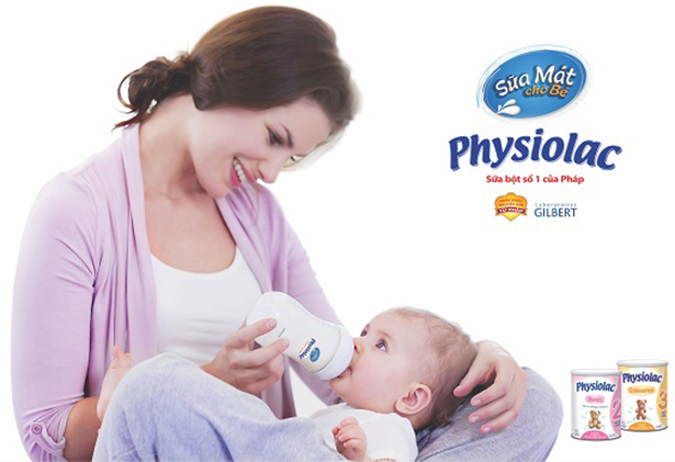 sữa physiolac cho trẻ từ 0-6 tháng tuổi
