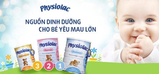Sữa Physiolac số 2 nguồn dinh dưỡng cho bé 6-12 tháng tuổi