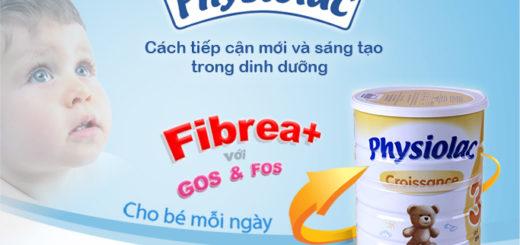 Sữa Physiolac số 3 với cách tiếp cận mới, tối ưu hệ tiêu hóa