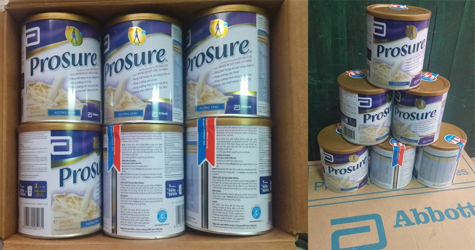 Cửa hàng phân phối Sữa Prosure uy tín số 1 tại Hà Nội