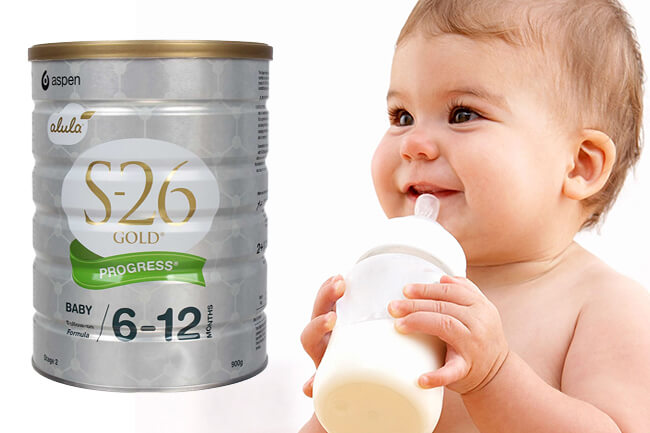 Sữa S26 số 2 cho bé 6-12 tháng