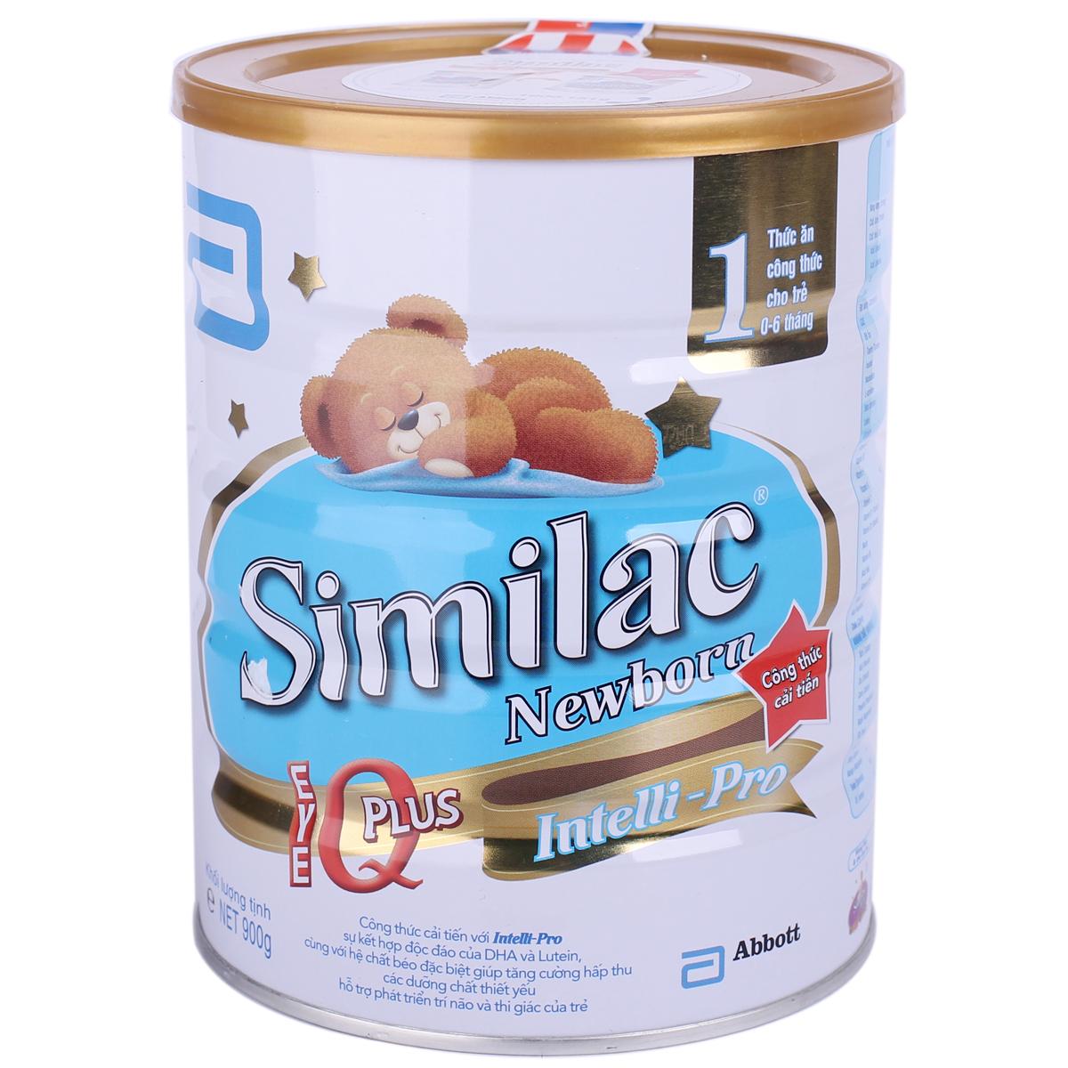 Sữa Similac số 1 dành cho trẻ sơ sinh từ 0-6 tháng tuổi
