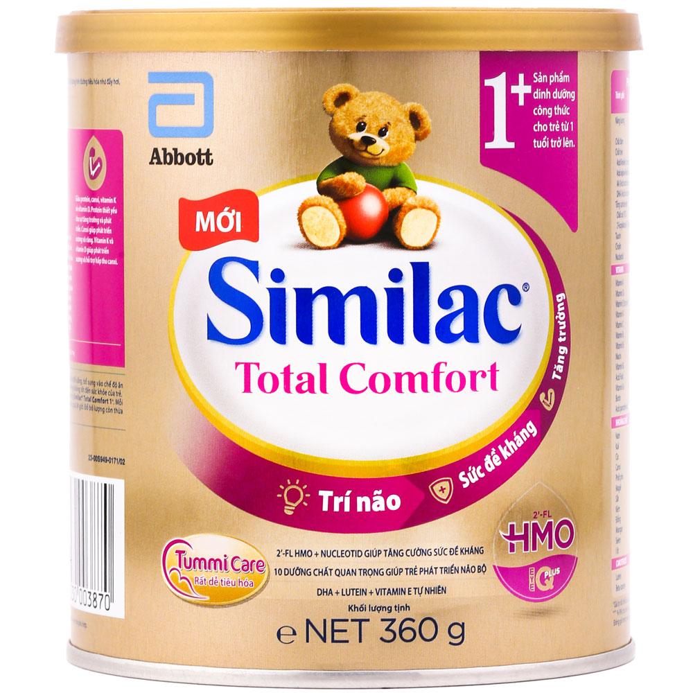 Sữa similac total comfort 1+ cho bé trên 1 tuổi