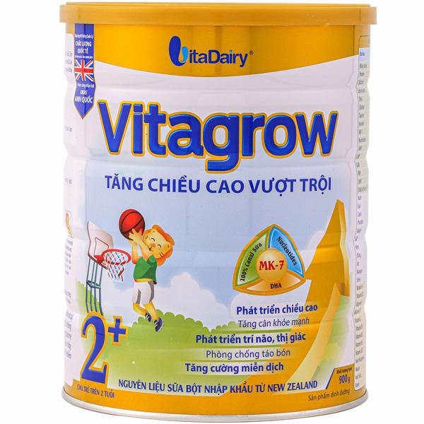 Sữa Vitagrow 2+ cho bé trên 2 tuổi phát triển toàn diện