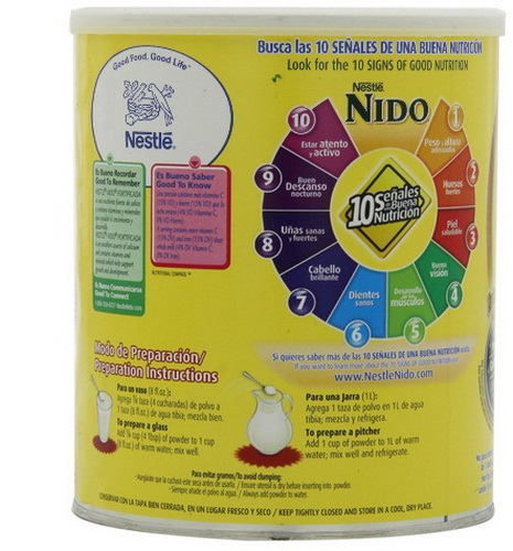 sữa nido nắp trắng 2
